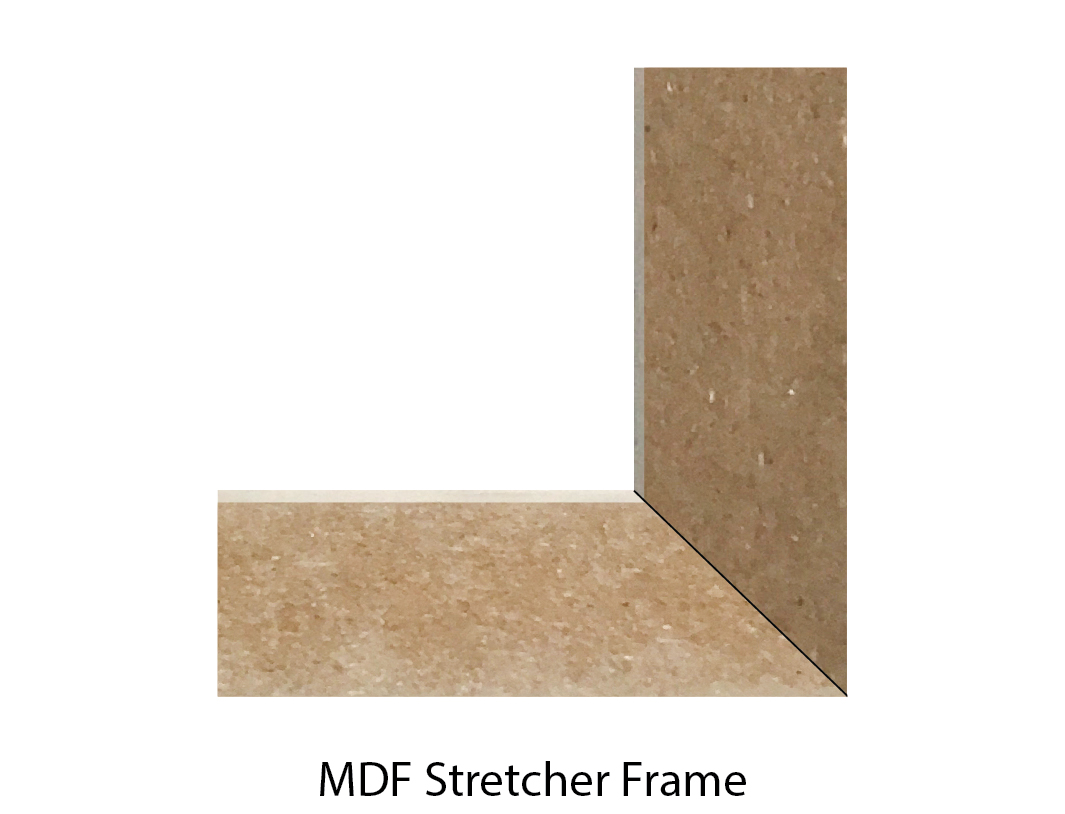 wooden stretcher frame