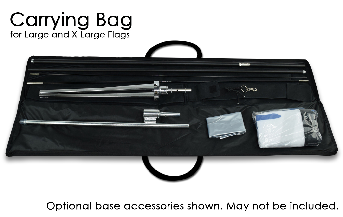 carry bag for flags