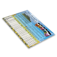 Sales Sheets (Small Quantity)
