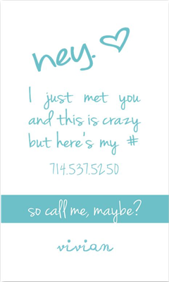 Call Me Maybe 2 Blue