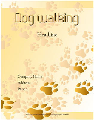 Dogwalking85x55