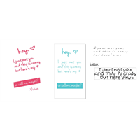 "Design your own ""Call Me Maybe"" Cards (Vertical)"
