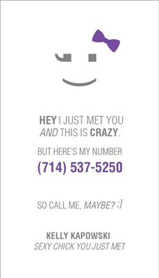 Call Me Maybe 3 Purple