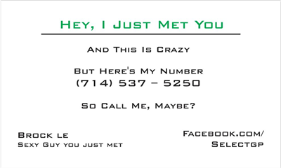 Call Me Maybe 1 Green