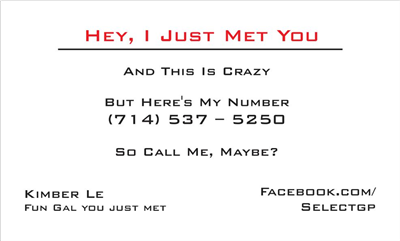 Call Me Maybe 1 Red