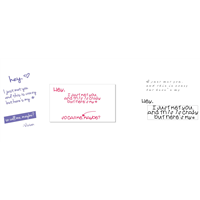 "Design your own ""Call Me Maybe"" Cards (Horizontal)"