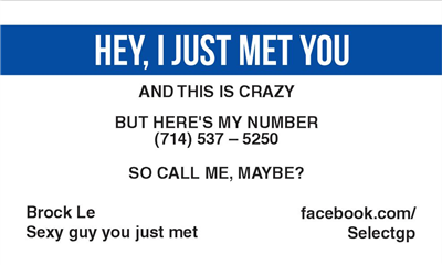 Call Me Maybe 4 Navy