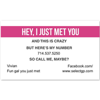 Call Me Maybe 4 Magenta