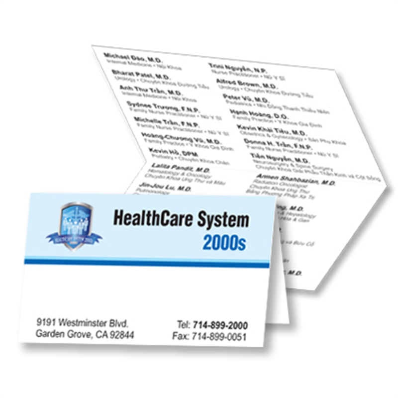 Orange county printingselect graphics and printing print shop in foldover business cards reheart