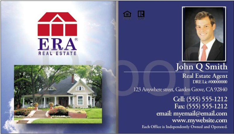 Orange county printingselect graphics and printing print shop in era real estate business cards reheart Image collections